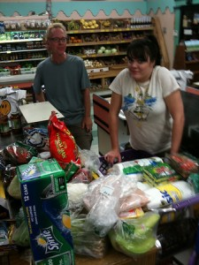 skyhawk8519: buying 10 days worth of groceries