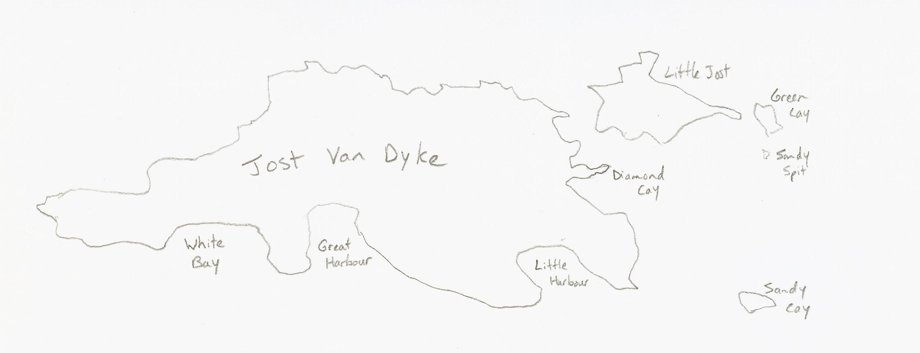 Jost Van Dyke BVI Bound